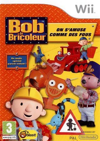 Joc Nintendo Wii Bob the Builder - FRENCH - 60501