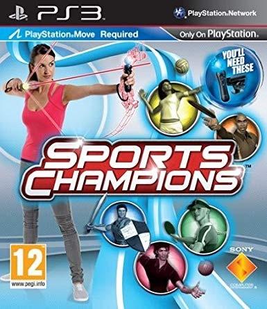 Joc PS3 Sports Champions - PS Move  - Czech, Slovak, Greek,Hungarian