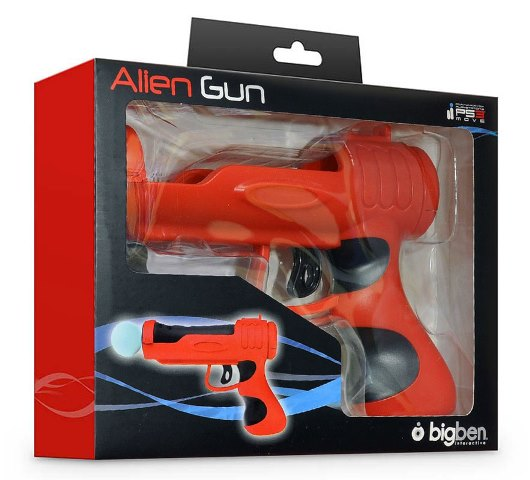 Pistol pentru PS Move PS3 PS4 - Big Ben Alien Gun - 60503