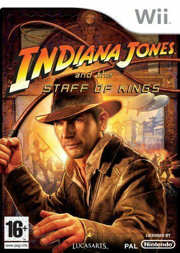 Joc Nintendo Wii Indiana Jones and the Staff of Kings - A