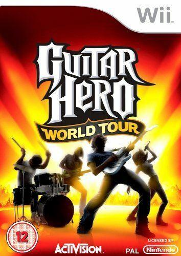 Joc Nintendo Wii Guitar Hero World Tour