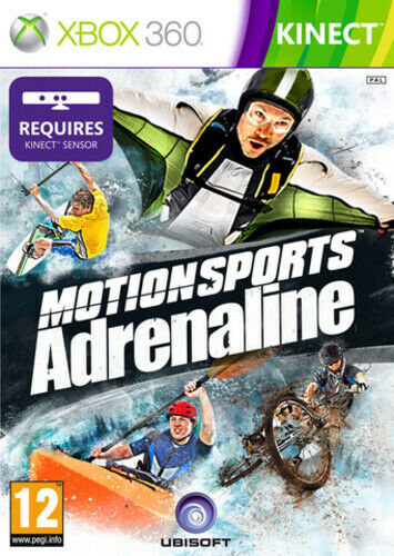 Joc XBOX 360 Motionsports Adrenaline - Kinect