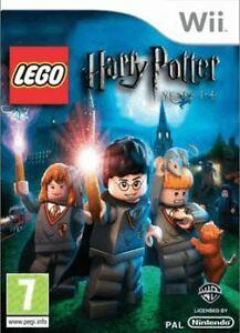 Joc Nintendo Wii Lego Harry Potter Nintendo Wii Years 1 - 4
