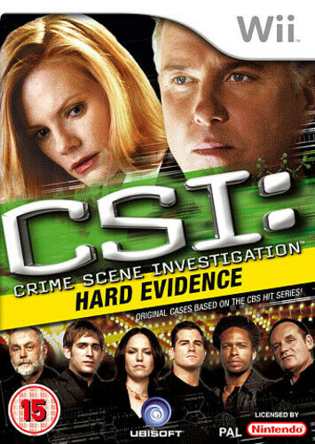 Joc Nintendo Wii CSI: Crime Scene Investigation Hard Evidence