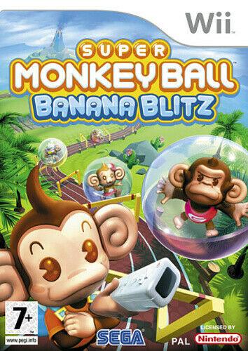 Joc Nintendo Wii Super Monkey Ball: Banana Blitz - B