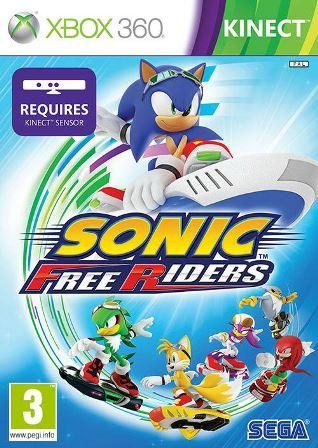 Joc XBOX 360 Sonic Free Riders - Kinect