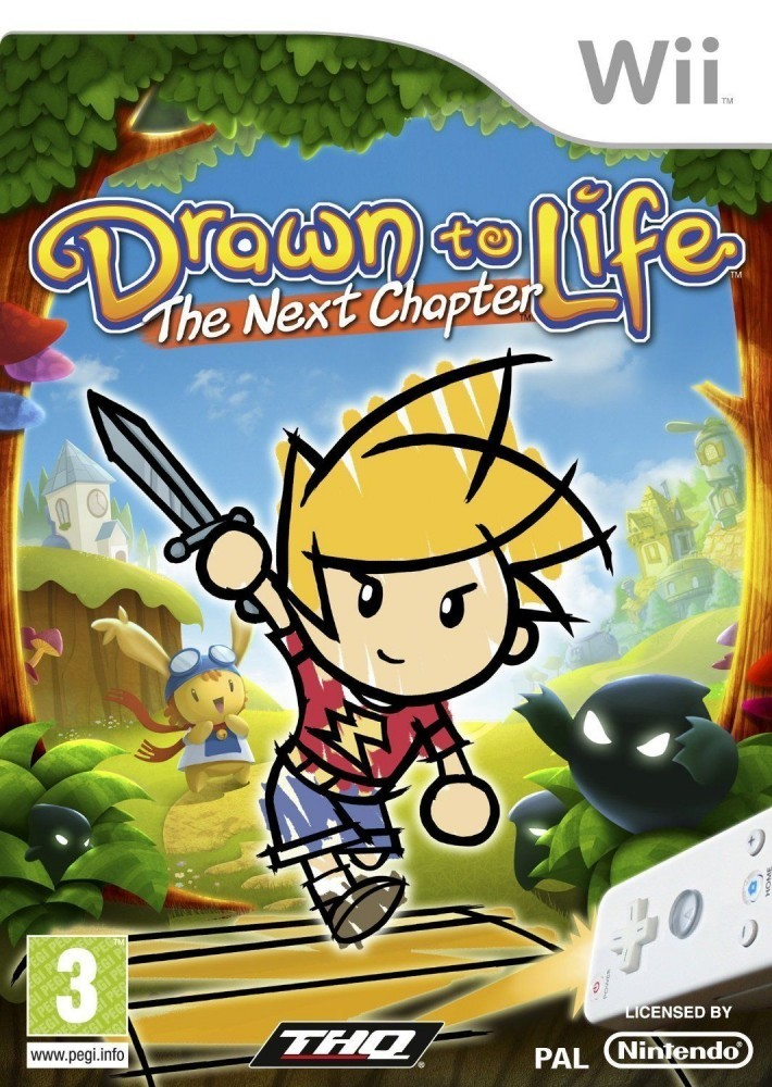 Joc Nintendo Wii Drawn to life - The next chapter - A