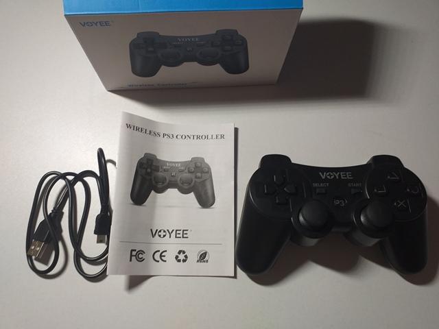 Controller wireless + cablu alimentare pentru PS3