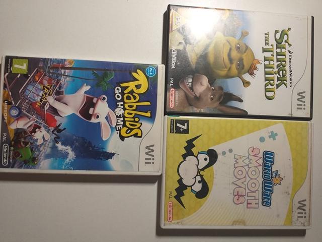 Joc Nintendo Wii X 3 - LOT 042