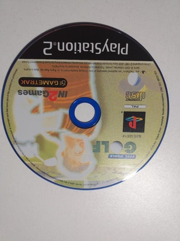Joc PS2 Gametrak Real World Golf - G