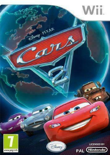 Joc Nintendo Wii Disney Pixar Cars 2
