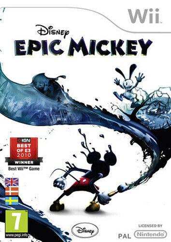 Joc Nintendo Wii Disney: Epic Mickey