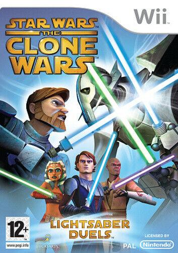 Joc Nintendo Wii Star Wars The Clone Wars: Lightsaber Duels