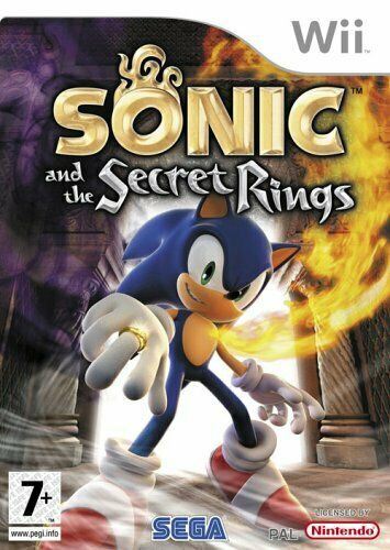 Joc Nintendo Wii Sonic and the Secret Rings