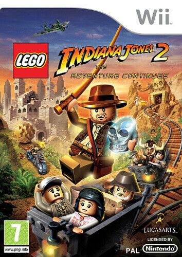 Joc Nintendo Wii LEGO Indiana Jones 2: The Adventure Continues