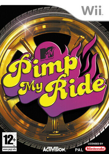 Joc Nintendo Wii Pimp My Ride