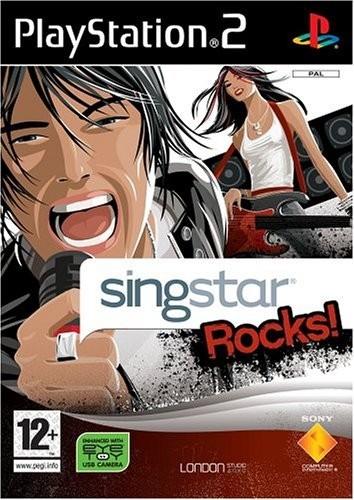 Joc PS2 Singstar Rocks - B