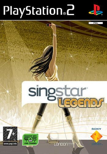 Joc PS2 SingStar Legends
