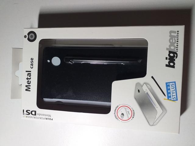 Carcasa metalica + Stylus - BigBen -Nintendo DSi - 006