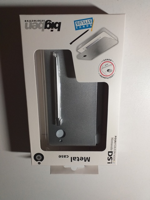 Carcasa metalica + Stylus - BigBen -Nintendo DSi - 008