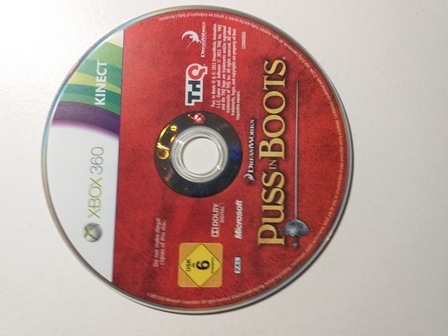 Joc XBOX 360 Puss in Boots - Kinect - G