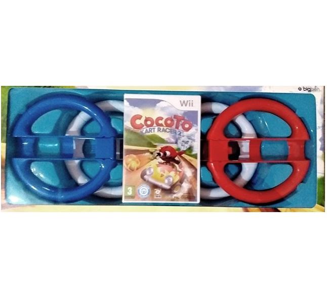 Cocoto kart Racer 2 + 4 Volane - Nintendo Wii - 60519