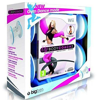 Body Coach 2 Fitness and Dance + Gantere - Nintendo Wii - 60514