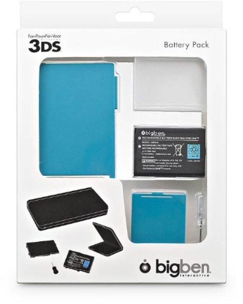 Baterie, capac detasabil si stand incarcare - Nintendo 3DS  - 60510