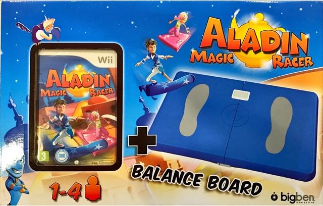 Aladin Magic Racer + Ballance Board - Nintendo Wii - 60518